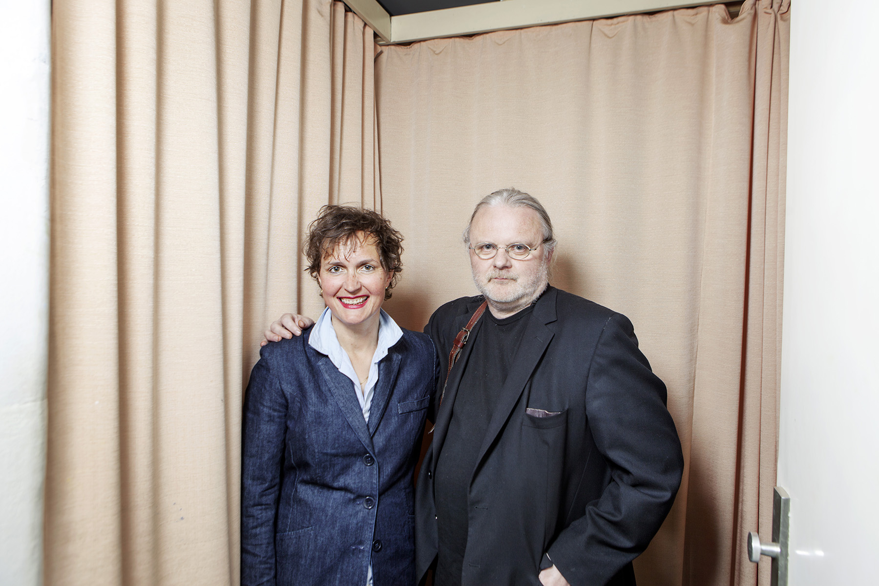 Barbara Frey und Jan Fosse in the Viennese Akademietheater