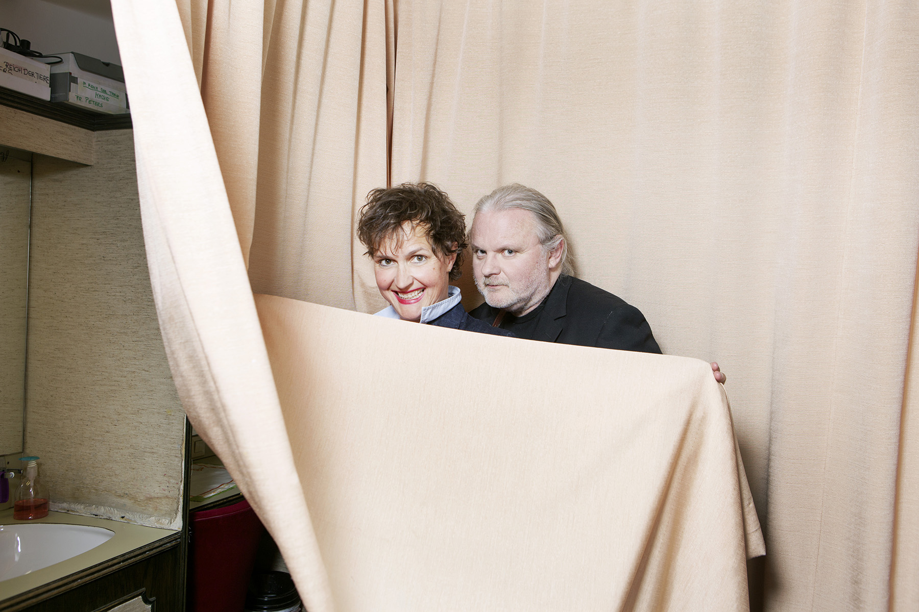 Barbara Frey und Jan Fosse in the Viennese Akademietheater