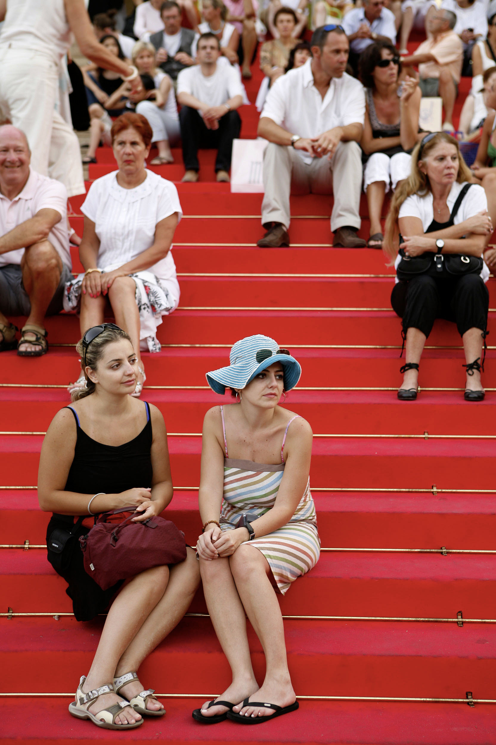 "France, Cote d´Azur, Cannes, Red Carpet at the ""Palais des Festivals""  ©  Reiner Riedler"
