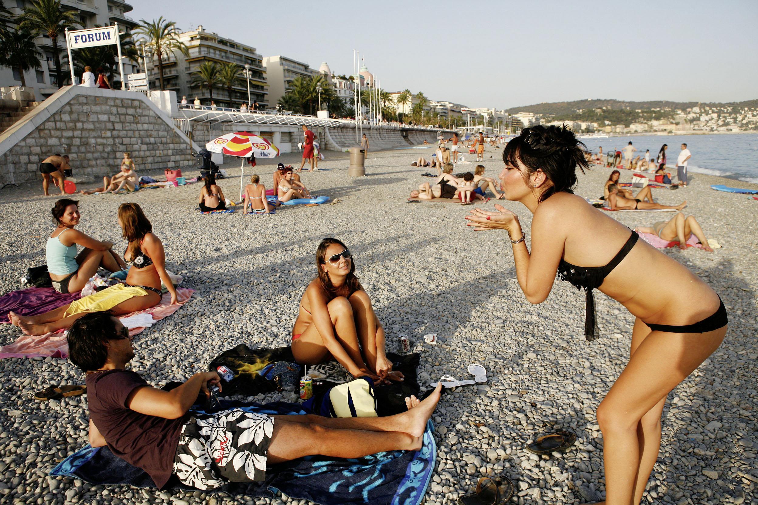 France, Cote d´Azur, Nice, Beachlife  ©  Reiner Riedler / Anzenberger
