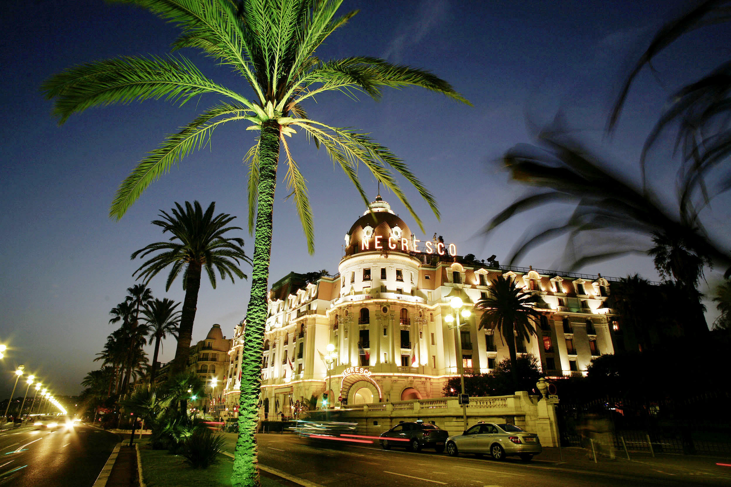 France, Cote d´Azur, Nice, Hotel Negresco at the Promenade des Anglais  ©  Reiner Riedler / Anzenberger