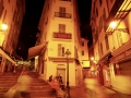 France, Cote d´Azur, Nice, Nightscene at the Placette Abbe Robert Jarre  ©  Reiner Riedler