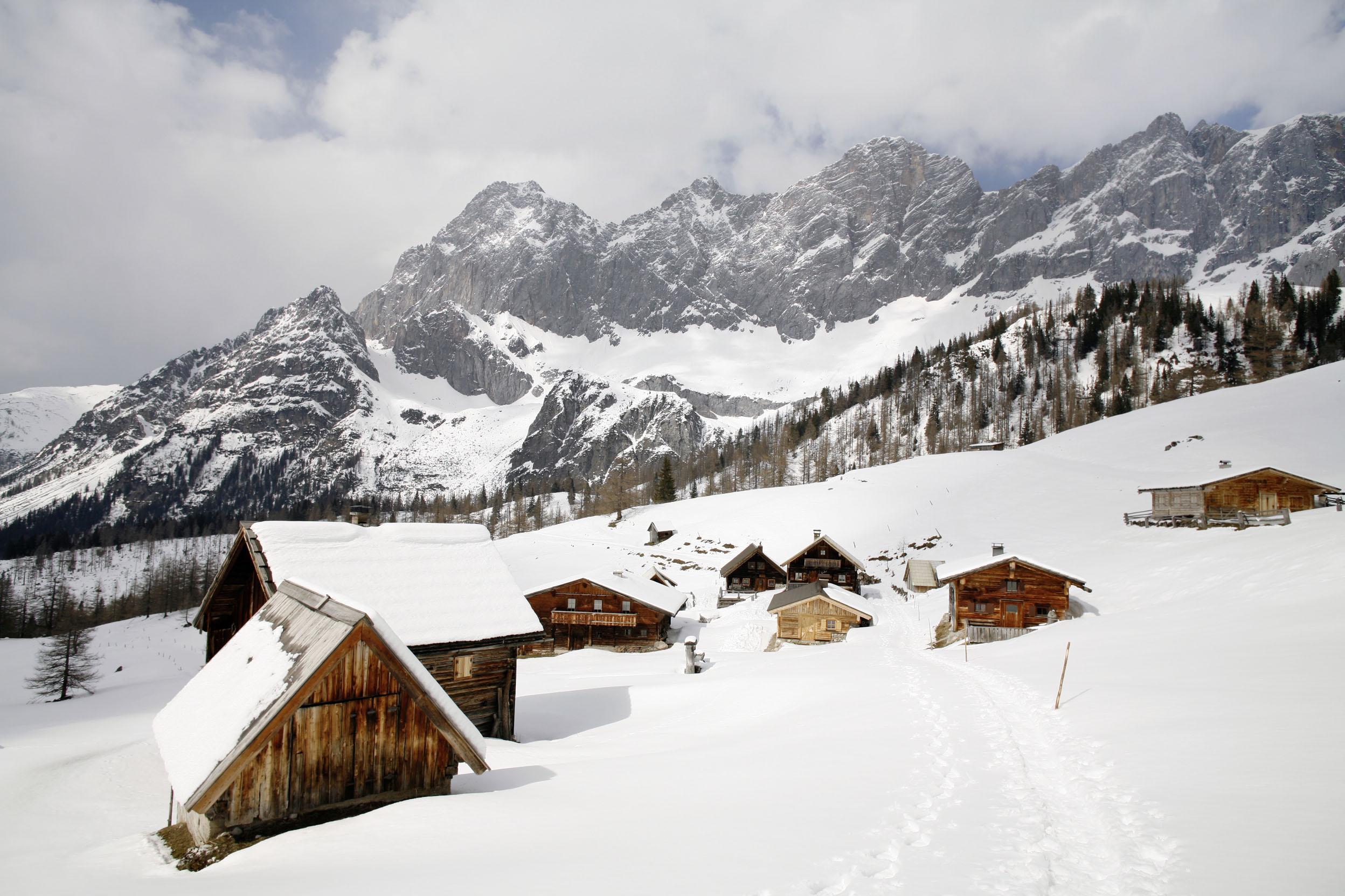 Österreich; Ramsau; Almhütten in Neustatt ©  Reiner Riedler