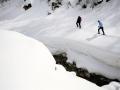 Österreich; Ramsau; Schneeschuhwandern bei der Neusatt Alm ©  Reiner Riedler