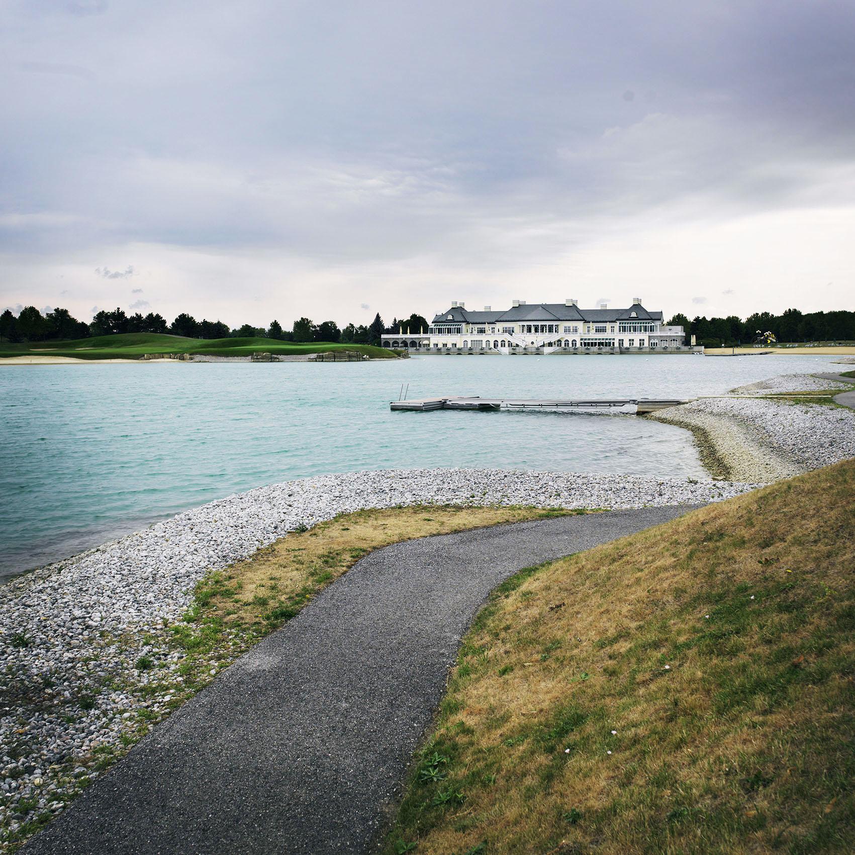 "View to Magna Golf Club, ""MAGNA International Europe AG"", Magna Straße 1, 2522 Oberwaltersdorf"