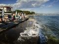 Kroatien; Tesla; Strandansicht in Opatija
