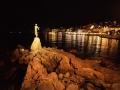 Kroatien; Tesla; Opatija, Jungfrau mit der Möve
