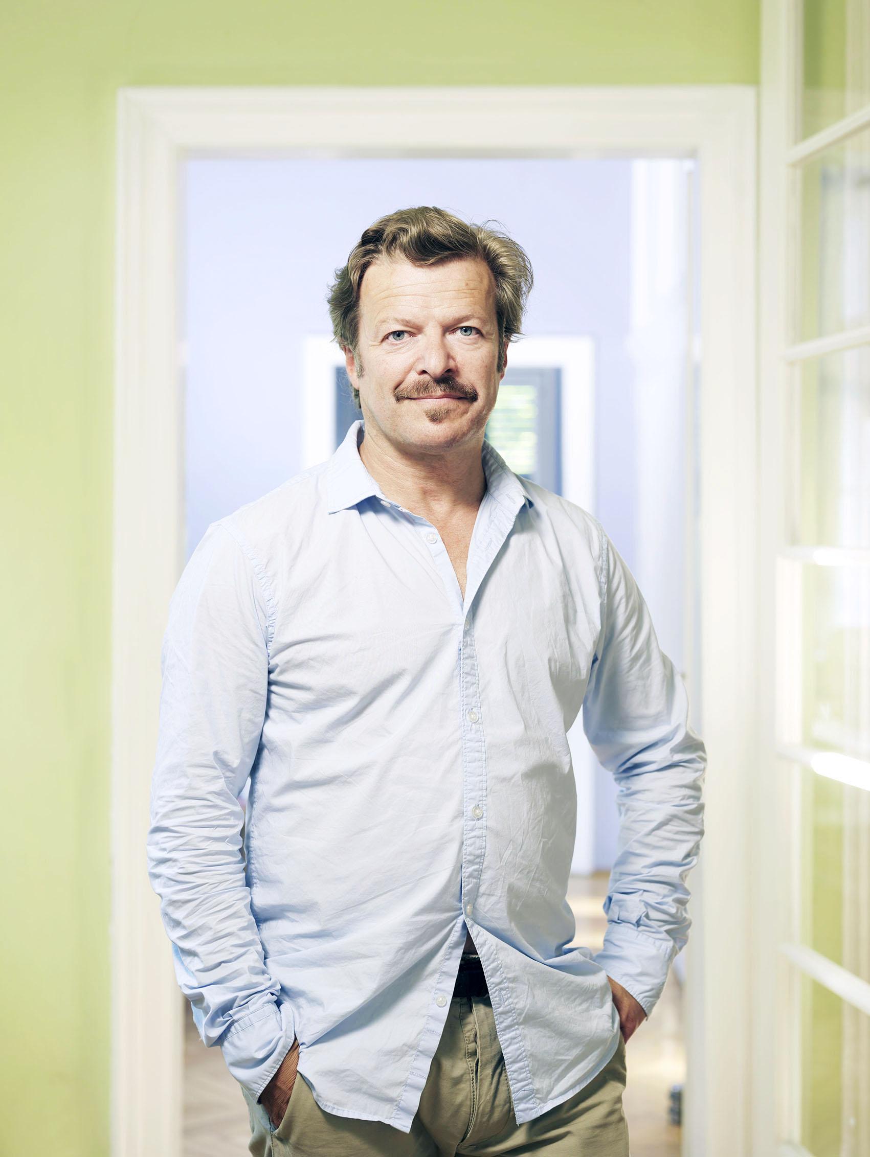 """Swiss """"Tatort"""" - actor Roland Koch in Vienna"""