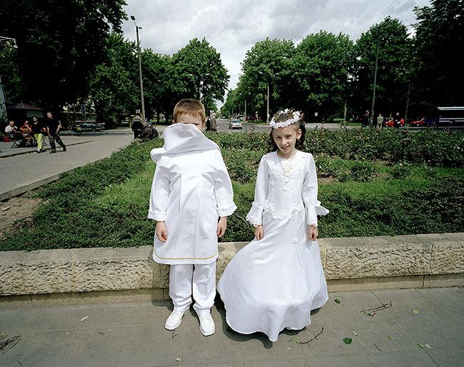 Poland, Crakow; First Communion in Nowa Huta