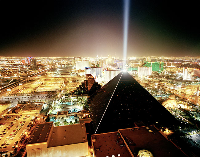 Las Vegas, view don from th top of the Mandalay Bay  ©  Reiner Riedler / Anzenberger