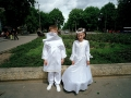 Poland, Crakow; First Communion in Nowa Huta