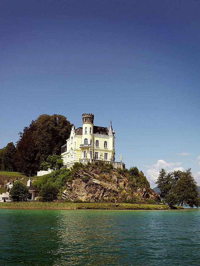 Austria; Carinthia; Wörthersee, Schloss Reifnitz in der Gemeinde Maria Wörth  ©  Reiner Riedler
