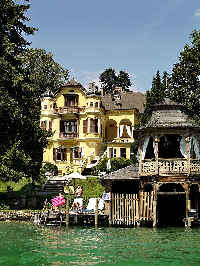 Austria; Carinthia; Wörthersee, Villa Miralago in Pörtschach  ©  Reiner Riedler