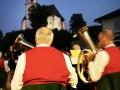 Austria; Carinthia; Wörthersee, Blasmusik zur Marienkreuzfahrt in Maria Wörth  ©  Reiner Riedler