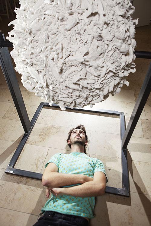 Wunderkammer Ausstellung; TU Wien 2015; globus, Matthias Richard Ramsey